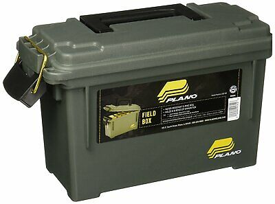 Case Storage Plano Ammo Can Field Box Gun Ammunition Container Hunting Shoot-