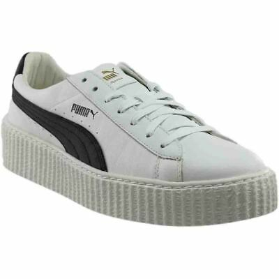 Puma Fenty by Rihanna Creeper Leather Sneakers - White - Mens