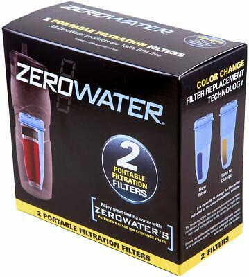 Water Filters Replacement for Zero Water Dispensers 2 pack Latest 5 Stage New