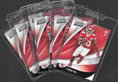 2018 PANINI BLACK FRIDAY TYREEK HILL 23 LOT OF 6 CARDS