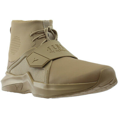 Puma Fenty by Rihanna The Trainer High Sneakers - Beige - Mens