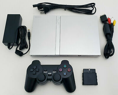 Original SONY PS2 Gaming System Bundle Black Video Game Console PLAYSTATION-2
