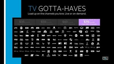 🔥 Direct TV Now  GOTTA HAVE IT   - HBO - STARZ - CINEMAX - Showtime fast