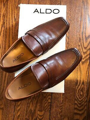 aldo men shoes 9 New And In The Box- Brown Dress Shoes