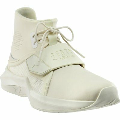 Puma Fenty by Rihanna The Trainer High Sneakers - White - Womens