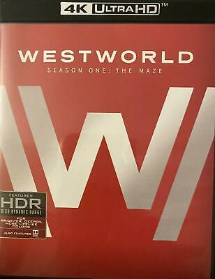 Westworld The Complete First 1st Season 4K Ultra HDBlu-ray 2017 NEW