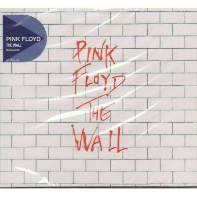2CD  PINK FLOYD - THE WALL  REMASTERED  NEW and SEALED CD FREE USA SHIPPING