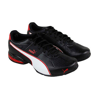 Puma Cell Surin 2 Fm Mens Black Leather Low Top Sneakers Shoes
