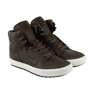 Supra Vaider Cw Mens Brown Synthetic High Top Lace Up Sneakers Shoes