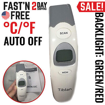 Infrared Thermometer Digital Forehead Ear For Baby Infant Body Temperature Dual