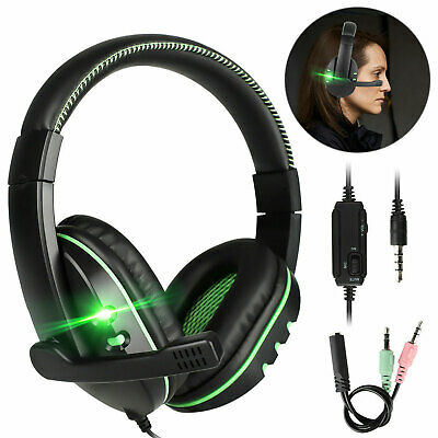 Stereo Sound Headphone Gaming Headset For PS4Nintendo SwitchXbox OnePCPhone