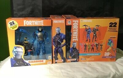 McFarlane Toys  FORTNITE  EPIC games   CARBIDE   7 Action figure  MIP