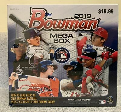 2019 BOWMAN  MEGA BOX  FACTORY SEALED  TARGET EXCLUSIVE