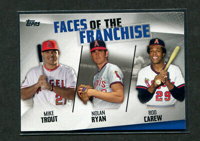 2019 Topps Series 2 Faces of The Franchise Insert You Pick Complete Your Set