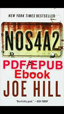 Nos4a2 by Joe Hill 🔥Same day delivery🔥