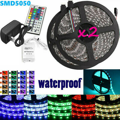 Led Strip Lighting 25M 32-8 Ft 5050 RGB 150 LEDs Flexible Color Changing Light