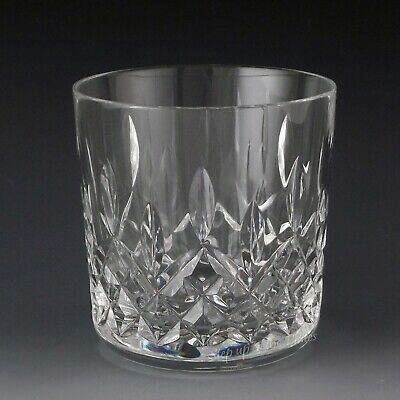 Waterford Crystal LISMORE Old Fashioned Ireland 9 oz 3 14 Rocks Glass Tumbler