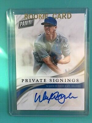 2018 Black Friday Walker Buehler RC Autograph Los Angeles Dodgers