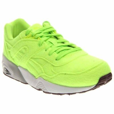 Puma R698 Bright Running Shoes - Green - Mens
