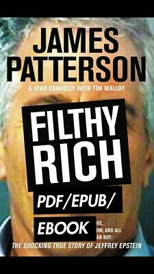 Filthy Rich by James Patterson 🔥Same day shipping🔥