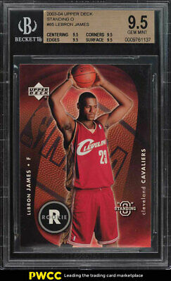 2003 Upper Deck Standing O LeBron James ROOKIE RC 85 BGS 9-5 GEM MINT PWCC