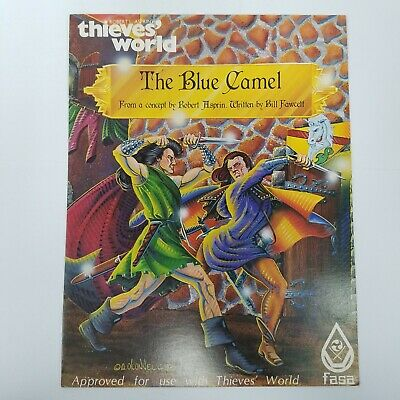 THIEVES WORLD - THE BLUE CAMEL ROBERT ASPRINS ROLE PLAYING GAMES