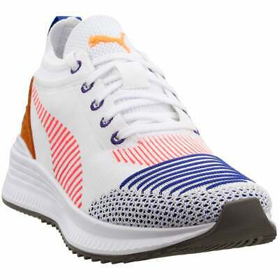 Puma Avid Nu Knit Sneakers - White - Mens