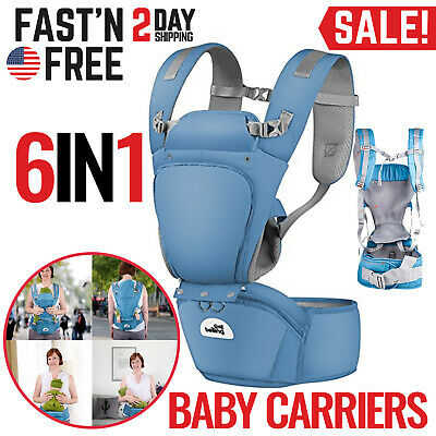 Baby Carrier Toddler Infant Newborn Holder Front Facing Chest Carrier Soft