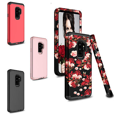 For Samsung Galaxy S9-SM-G965US9 Plus Phone Case Shockproof Hybrid Armor Cover