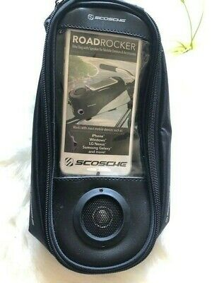 Scosche BMXLS-RoadRocker XL Bike Bag wSpeaker for Mobile Devices and Accessory
