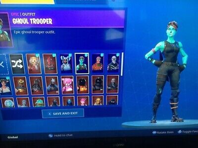 FORTNITE GHOUL TROOPER ACCOUNT ONLY 1 Available