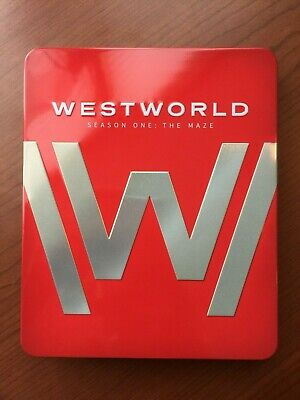 Westworld Season One The Maze 4K BD Ultra Bluray 2016 Steelbook