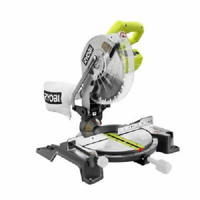 Ryobi 10 in- Compound Miter Saw w Laser Line TS1345L Recon