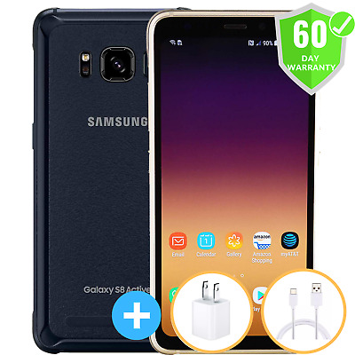 Samsung Galaxy S8 Active G892A  GSM Factory Unlocked  64GB  Excellent