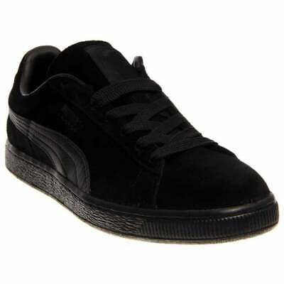 Puma Suede Classics Leather Formstrip  Casual   Shoes Black Mens - Size 12 D