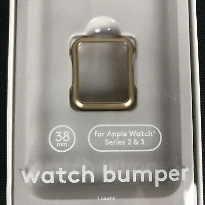 Heyday for Apple Watch Series 2 and 3 Bumper - 38 mm Gold
