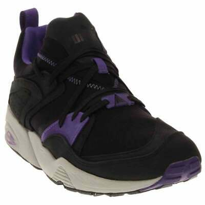 Puma Blaze Of Glory Trinomic Crackle  Casual Running  Shoes - Black - Mens