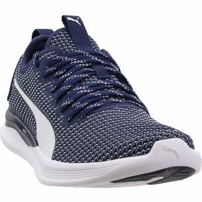 Puma Ignite Flash FS  Casual Running  Shoes - Navy - Mens