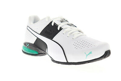 Puma Cell Surin 2 Matte 18907409 Mens White Leather Athletic Running Shoes
