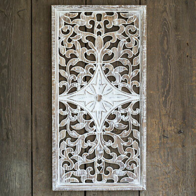 Architechural new Large Wood Wall Hanging