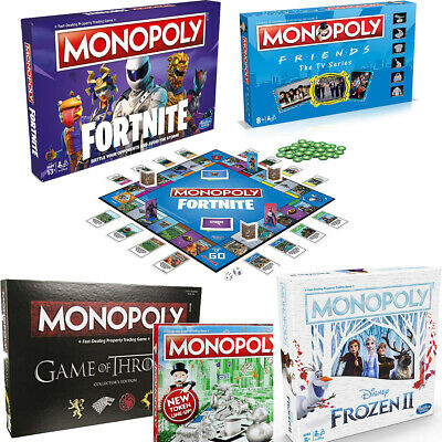 Monopoly Board Game - Brand New and Sealed - lots of editions to choose from!