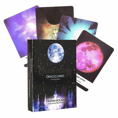Moonology Oracle Cards A 44-Card Deck and Guidebook by Yasmin Boland Magic