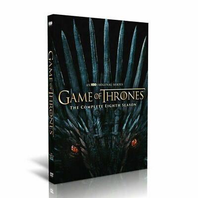 Game of Thrones The Complete Eighth 8th Season 8 DVD BRAND NEW - SHIPPING NOW