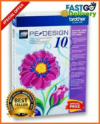 Brother PE-Design 10 - Digitizing Embroidery Software