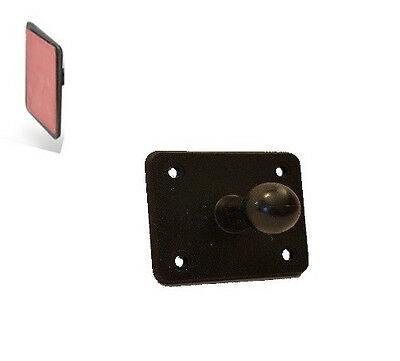 Flat Surface Mount with 17mm Ball - 3M Adhesive for Garmin dezl GPS