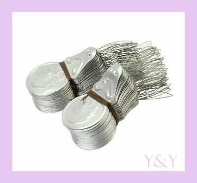 100 Pcs Silver DIY Needle Hand Sewing Wire Loop Stitch Insertion Threader