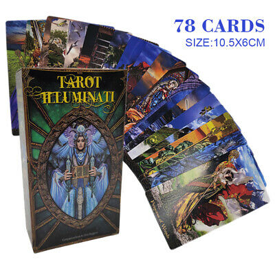 Tarot Illuminati Deck Cards Dunne Esoteric Fortune Telling Lo Scarabeo prophecy