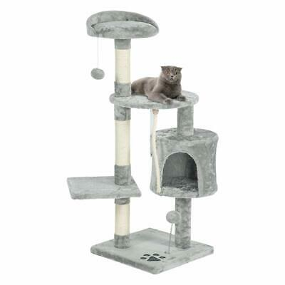 New 44 Cat Tree Tower Condo Furniture Scratching Post Pet Kitty Play House