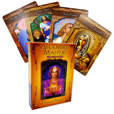 Ascended Masters Oracle Cards Doreen Virtue Card Deck 44 Card Deck Prophecy