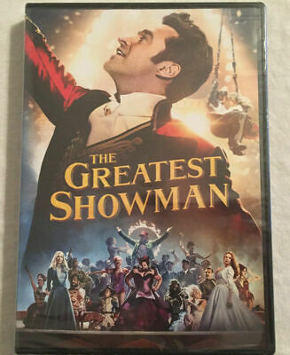 The Greatest Showman DVD 2018 BRAND NEW - FREE SHIPPING